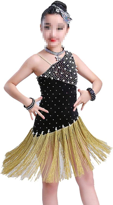 Cvbndfe Weich Flapper-Satin-Kostüm für Mädchen (Farbe   Schwarz, Größe   20cm) B07Q1YVJPR Sehen Sie die Welt aus der Perspektive des Kindes  |