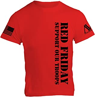 RED (Remember Everyone Deployed) Friday Mens T-Shirt - American Warrior Collection