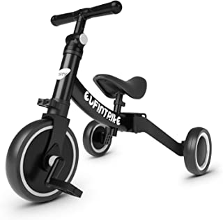 besrey 5 in 1 Toddler Bike with 3 Wheel, Kids/Toddler Tricycles for 10 Month-3 Years Old, Kids Trikes for Boys Girls, Bala...