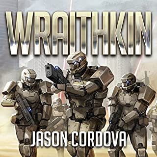 Wraithkin audiobook cover art