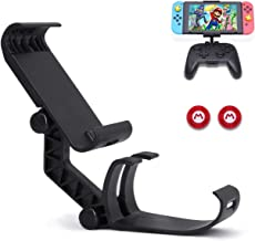 Dainslef Switch Controller Holder for Switch/Switch Lite, Foldable Nintendo Switch Mount, Switch Pro Controller Grip(Contr...