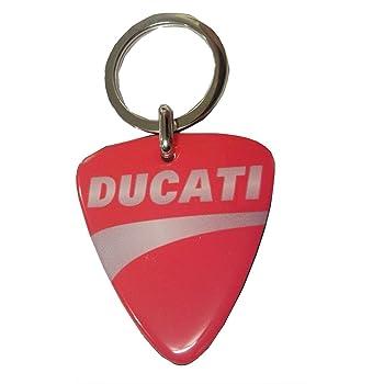 Pritelli 1856010 Portachiavi in Metallo Logo Ducati Corse