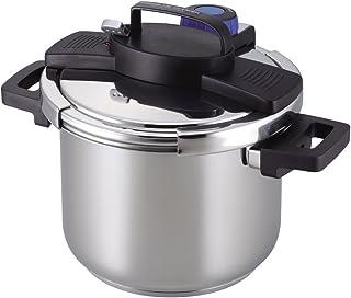 パール金属 圧力鍋 5.5L IH対応 3層底 ワンタッチレバー H-5389