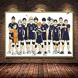 shuimanjinshan Anime Volleyball Jungen Poster Leinwand