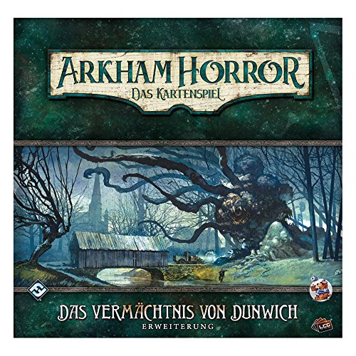mächtig Asmodee FFGD1101 Arkham Horror: LCG-Erbe der Dunwich-Erweiterung, Linving-Kartenspiel