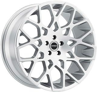"S59 Buca 22x9.5 5x120 25 Silver Brushed Wheels(4) 22"" inch Rims"