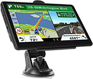 $57 » GPS Navigation for Car Truck, Touchscreen 7 Inch 8G 256M Navigation System with Voice Guidance Free Map Update - European