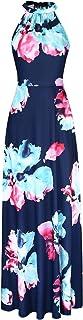 STYLEWORD Women's Off Shoulder Elegant Maxi Long Dress