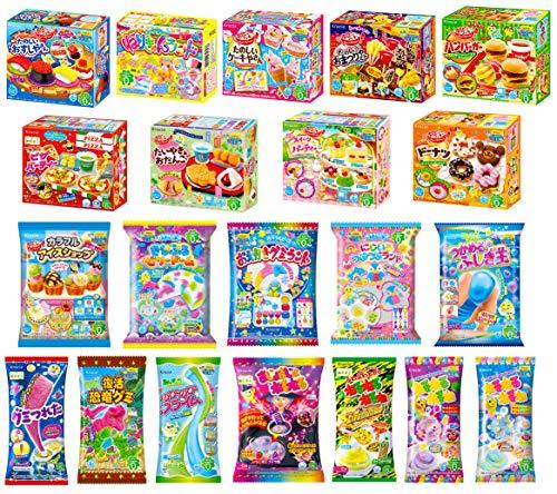 6 Kracie Popin Cookin Kits DIY Japanische Süßigkeiten Sets Süßigkeiten Gummi