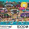 Buffalo Games - Pun Fuzzles - Hawaiian Food Truck Festival - 1000 Piece Jigsaw Puzzle #1