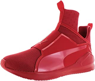 PUMA Men's Fierce Core Mono Ankle-High Leather Fashion Sneaker