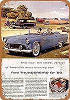 Thunderbird Convertible ティンサイン ポスター ン サイン プレート ブリキ看板 ホーム バーために