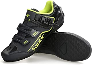 Cycling Shoes Men SPD Spin Unlocked Bike Bicycle Road Biking Lock Shoes MTB Cycling Accessories Self-Locking Shoes
