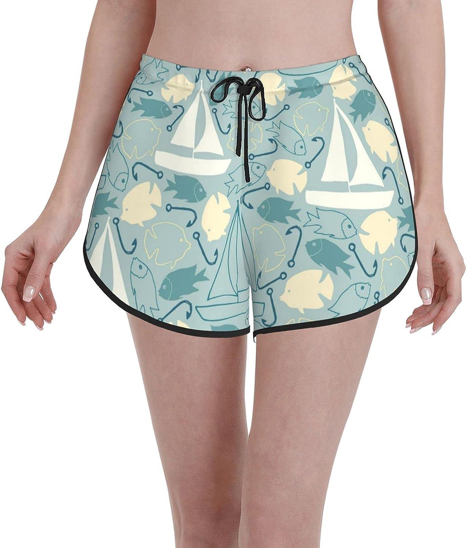 Board Shorts Women's Swimwear Boat Fish Casual Max Sales for sale 82% OFF Short Sports Swim