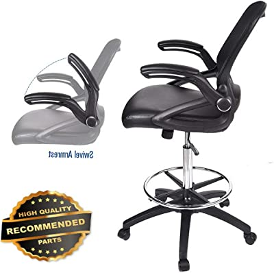 Gaming Chair High Back Ergonomic Racing Chair with Footrest Adjustable Height Swivel Office Chair with Headrest