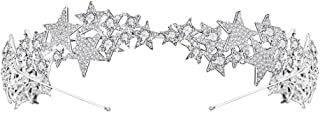 YNYA Tiare Sposa Crown Crown Fascia per Capelli Accessori per Capelli Accessori per Abiti da Sposa Regali di Nozze