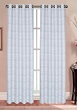 """لوحة ستائر نافذة حمام شعبية ، مجموعة ميلان ، 137 سم × 213 سم ، صدفي 54"""" x 84"""" 809398"""