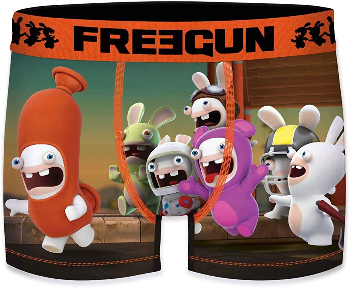 FREEGUN Boys Boxer Raving Rabbids
