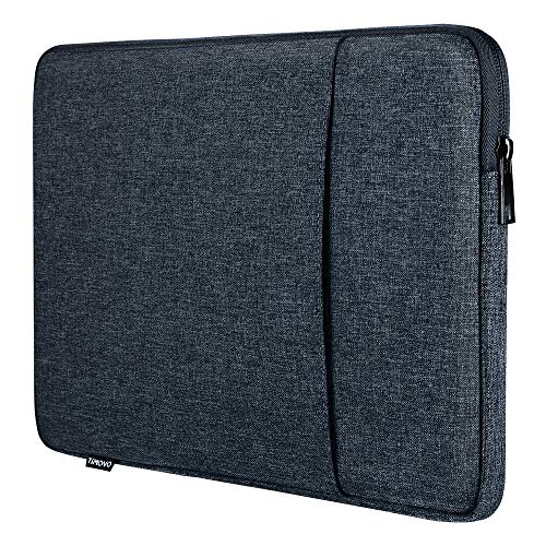 TiMOVO 13 Inch Tablet Laptop Sleeve Case Compatible with iPad Pro 12.9 2020, MacBook Air 13 Inch, MacBook Pro 13', Galaxy Tab S7+, Surface Pro X/7/6/5/4/3, Soft Durable Pocket, Space Gray