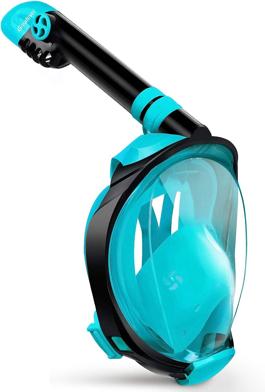La mejor máscara de snorkel para viajes