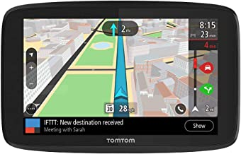 TomTom GO Supreme 6 Inch GPS Navigation Device with Traffic Congestion and Speed Cam Alerts Thanks to TomTom Traffic, Worl...