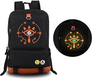 The Legend of Zelda: Breath of The Wild Sheikah Eye Luminous Backpack Schoolbag(1)