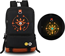 The Legend of Zelda: Breath of The Wild Sheikah Eye Luminous Backpack Schoolbag(1)