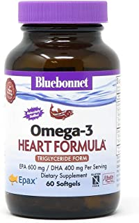 Sponsored Ad - BlueBonnet Nutrition Omega-3 Heart Formula Softgels, 60 Count