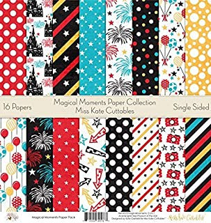 Best mickey mouse scrapbook paper Reviews