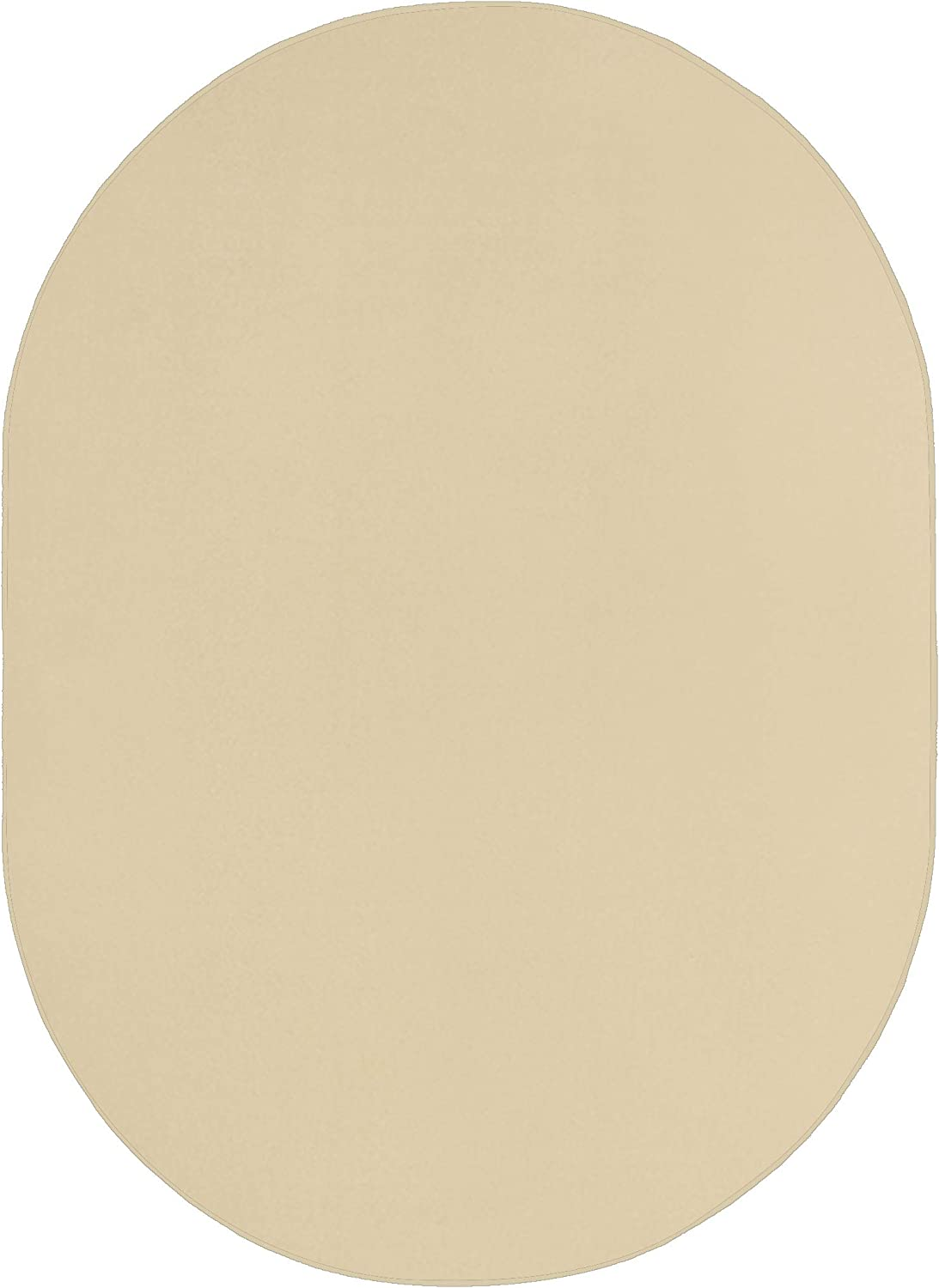 Smooth and Soft Courier shipping free Outdoor Off White Area Oval for Pati Max 78% OFF 2'x12' Rugs