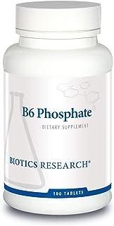 Biotics Research B6 Phosphate 100 Tablets