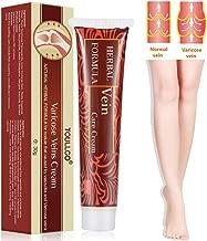 Varicose Veins Cream, Varicose Vein Treatment, Vein Cream for Spider Veins, Edema, Nerve Pain, Leg Pain, Herbal Care Ointment Relief Phlebitis Angiitis, 30 ml