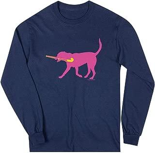 Field Hockey Long Sleeve T-Shirt | Fetch The Field Hockey Dog