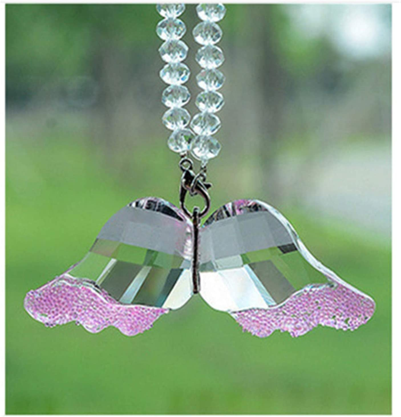 OMING Car Hanging Complete Free Shipping Surprise price Ornaments Fashion Pend Crystal Wings Angel