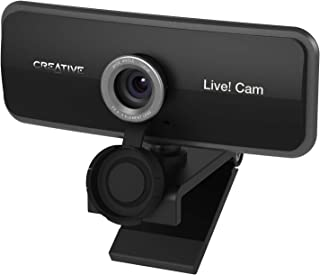 Creative Live! Cam Sync 1080p - Full HD Wide-Angle Webcam with Dual Built-in Mic