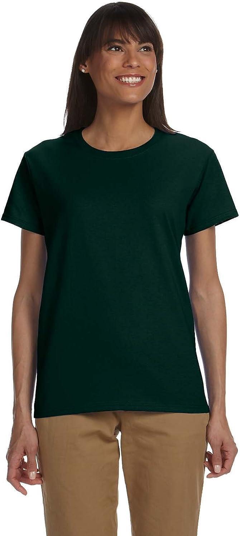 Gildan Womens 6.1 oz. Ultra Cotton TShirt (G200L) FOREST GRE 2XL12PK