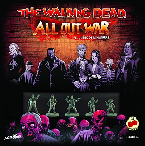 2 Tomatoes Games The Walking Dead: All out War-Caja Base, Multicolor (8437016497012)