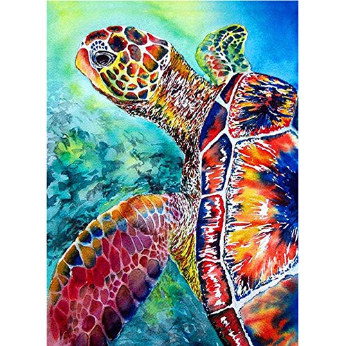 LWCOTTAGE 5D FAI Da Te Diamante Pittura,Animal 5D DIY Diamond Painting Cross Ctitch Kits Wall Sticker Diamond Art Mosaic Embroidery Painting Square Drill Gift,40X60Cm Square Drill