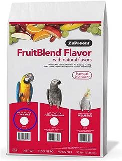 zupreem fruit blend 35 lbs
