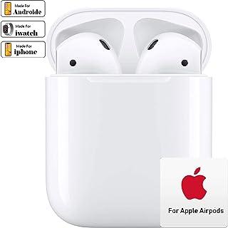 comprar comparacion Auriculares Bluetooth, inalámbricos Bluetooth,IPX7 Impermeable Auriculares, 8 Horas Permanente de reproducción, Doble micr...
