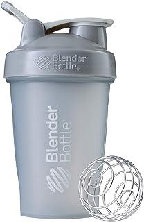 BlenderBottle Classic Loop Top Shaker Bottle, 20oz, Pebble Grey