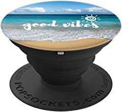 Good Vibes Ocean Themed - PopSockets Grip and Stand for Phones and Tablets