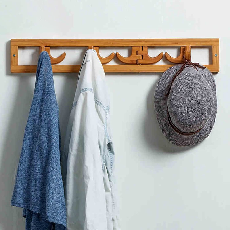 Coat Rack Wall Hanging Wood Wall Shelves Hangers Shelf Hanger (color   C)