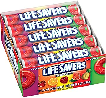 20-Pack Life Savers Five Flavors Hard Candy, 1.14 Ounce