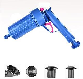 Dolloress 1x Bathroom Cleaners High Pressure Toilet Plunger Air Drain Blaster Pump Cleaner For Bath Toilets, Bathroom, Sho...