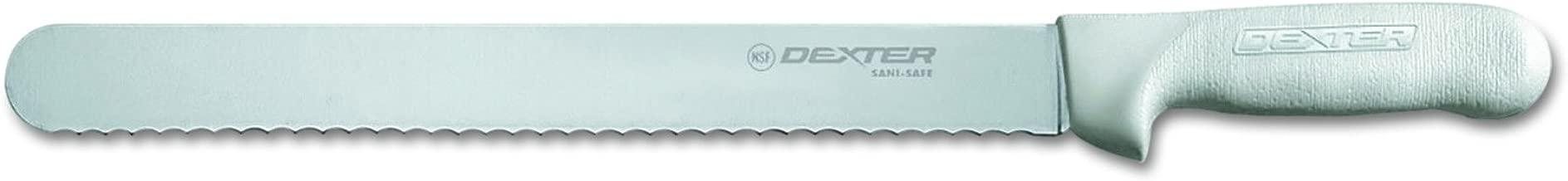 Dexter-Russell Sani-Safe Scalloped Roast Slicer, Carbon Steel Blade, 12-Inch
