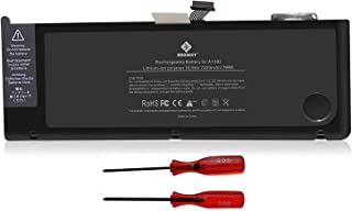 E EGOWAY Replacement Laptop Battery Compatible for MacBook Pro 15 inch A1382 A1286 Early and Late 2011, Mid 2012