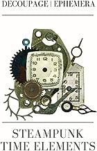 Steampunk  time elements: DECOUPAGE | EPHEMERA (Collage emphemera)