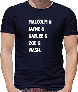 Serenity Crew List - Mens T-Shirt - 13 Colours