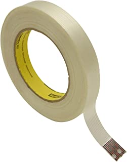 60 yd Scotch T914865112PK White #8651 Strapping Tape 0.75 Width Pack of 12 Length